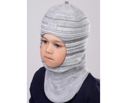 Шапка-шлем со светоотражающим элементом мальчику